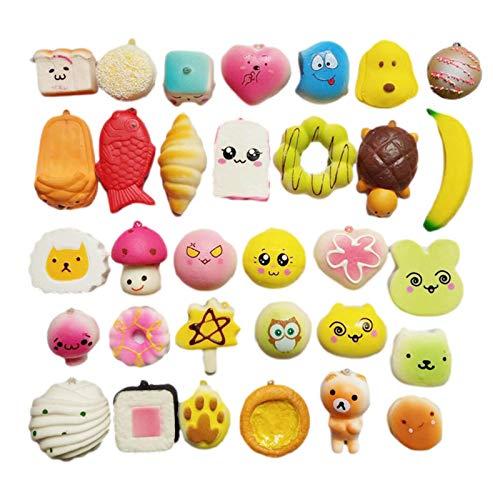Mini Squishies Tier - Mochi Squishies - Stressabbau Spielzeug - Mini Squishies Kawaii...