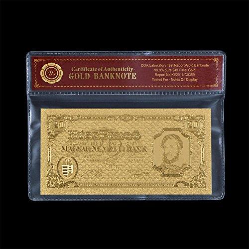 1000Lira-bankntoe Qualität mit 1000vergoldet mit italienischen Lira- und in der mit PVC-Bilderrahmen für Zuhause