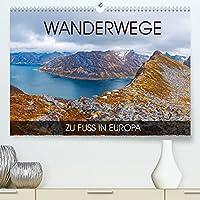 Wanderwege - zu Fuss in Europa (Premium, hochwertiger DIN A2 Wandkalender 2022, Kunstdruck in Hochglanz): Eine Fotoreise durch die wunderbaren Orte in Europa die am besten zu Fuss zu erkunden sind (Monatskalender, 14 Seiten )