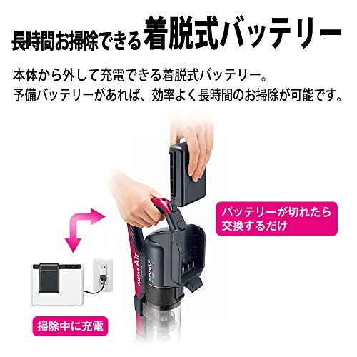 SHARP(シャープ)『コードレススティック掃除機(EC-AR3S)』