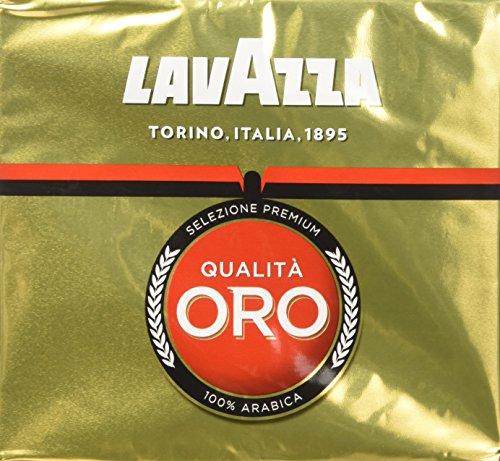 Lavazza Kaffee Espresso - Qualita Oro, 2x250g gemahlen