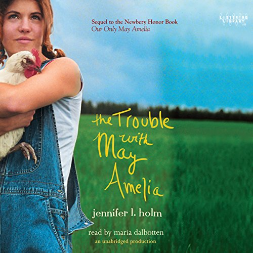The Trouble with May Amelia audiobook cover art