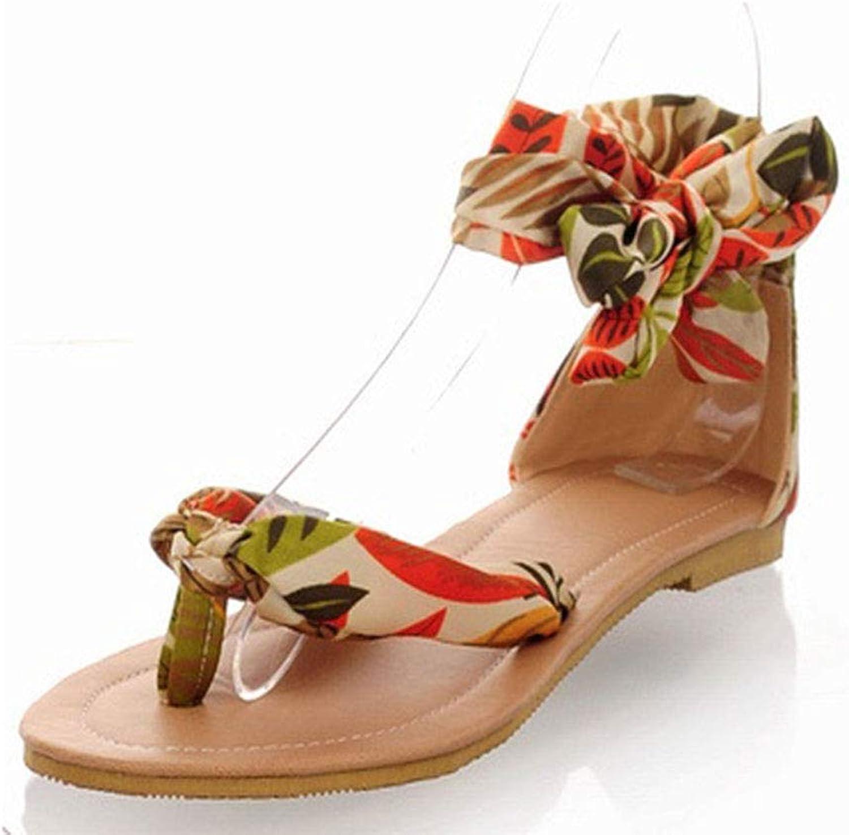 Women's Flip Flops Slipper Thong Summer Beach Sandals Clip Toe Bohemian Ladies Pool shoes