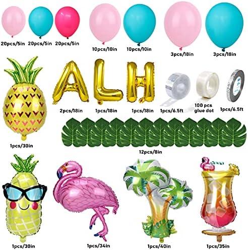 Palm tree leaf balloons _image3