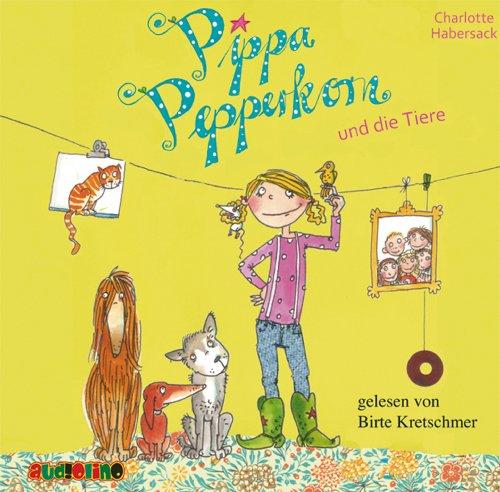 Pippa Pepperkorn und die Tiere Titelbild