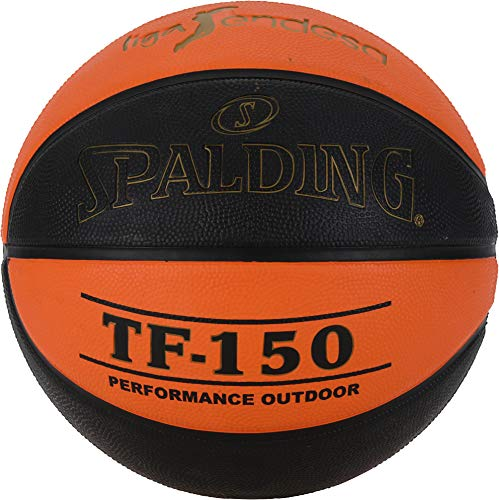 Spalding ACB-L.Endesa Tf150 Sz. 7 (83-892Z) Balón de Baloncesto, Unisex Adulto, Naranja Oscuro/Negro