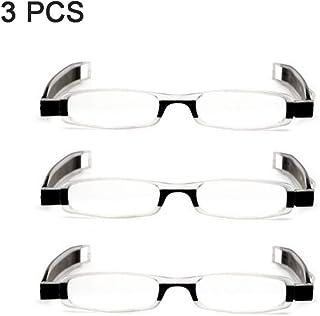 3f9fe77dbc DLDL Gafas para presbicia y Gafas de Lectura Marco TR90 Ultraligero Pliegue  Giratorio de 360 Grados