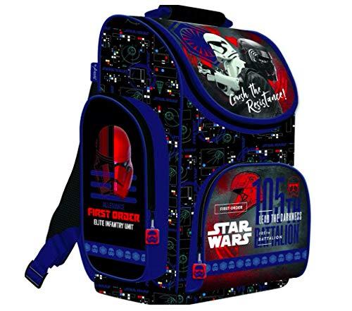 Star Wars Clone Schulranzen mit Sticker von Kids4shop RANZEN Schulrucksack Rucksack