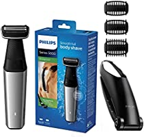 Philips Series 5000 Showerproof Body Groomer with Skin Comfort System with 3 combs and back attachment - BG5020/13