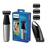 Philips Body Groomer, Serie 5000 Duschfest, mit rückwärtiger Befestigung und Hautkomfort-System, kabelgebundene und kabellose Nutzung – BG5020/13