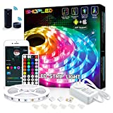 SHOPLED 5m Smart WiFi LED Strip Lights with Alexa Tuya Smart, APP Control