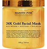 Majestic Pure Gold Facial Mask, Ancient Gold Face Mask Formula Reduces...