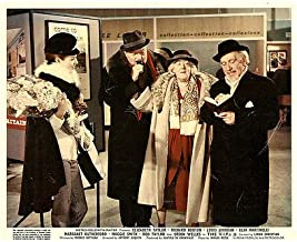 The V.I.P.'s Original Lobby Card Orson Welles Margaret Rutherford Elsa Martinell