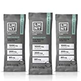 LMNT Keto Electrolyte Drink Mix   Paleo Hydration Powder   No Sugar, No Artificial Ingredients   Raw Unflavored   30 Stick Packs