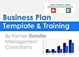 Business Plan Template and Training: Including editable Powerpoint template (English Edition)