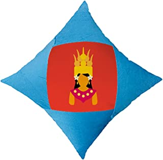 OFFbb-USA Cambodian - Funda de almohada para cama de coche, color azul