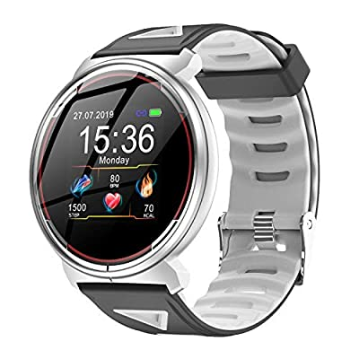 Smart Watch for iOS Android Phones, AIVEILE 2020 Version Activity Fitness Tracker Bluetooth Bracelet Waterproof Smartwatch with Blood Pressure Monitor Compatible Samsung iPhone for Men Women Kids by A I V E I L E