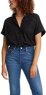 Women's Ariana Boxy Short-Sleeve Button Shirt