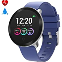 moreFit Halo Heart Rate Waterproof Fitness Activity Tracker (Blue)