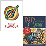 Ottolenghi Flavour By Yotam Ottolenghi, Ixta Belfrage & Tasty & Healthy F*ck That's Delicious By Iota 2 Books Collection Set