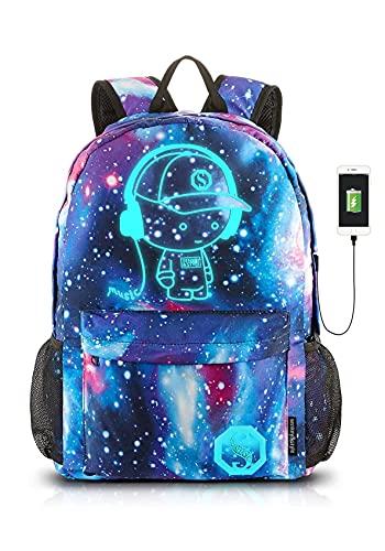 Dracarys Anime Galaxy Mochila Luminosa - Mochila...