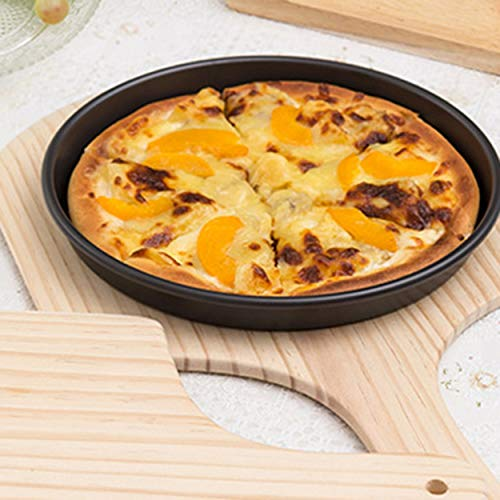11 Inch All-Wood Pizza Shovel Pizza Plate Baking Tool Durable Pizza Peel Wooden Pizza Pan Pallet Kitchen Accessories
