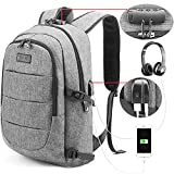 Laptop Backpack Water Resistant Anti-Theft Travel Bag with USB Charging Port and Lock 14/15.6 Inch Computer Business Backpacks for Women Men College School Student Gift,Bookbag Casual Hiking Daypack