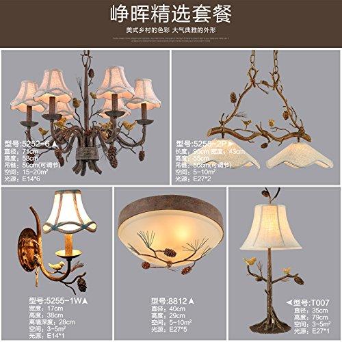 Quietness @ Ciondolo illuminazione LED moderno lampadario industrie creative Loft lampadario per sala da pranzo Camera da letto Soggiorno magazzino figura