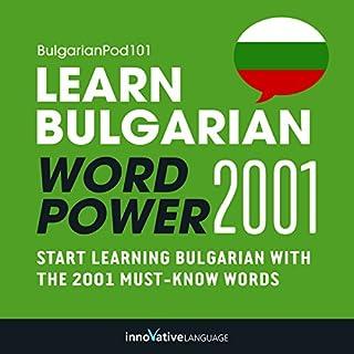 Couverture de Learn Bulgarian