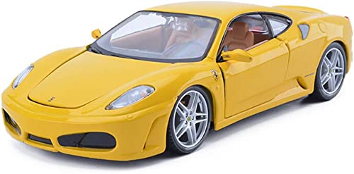 LIUFS-Legierung Auto Legierung Auto-Modell-Sammlung 1 24 Ferrari F430 Boy Erwachsene Geschenk Home Decoration (Farbe   Gelb)