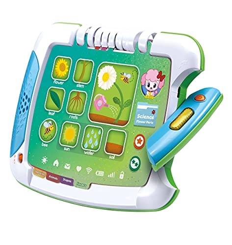 LeapFrog 2-in-1 Touch & Learn Tablet, Kids Two-Sided Tablet, Electronic Toy with Stories and Activities, Kids Tablet for Boys and Girls, Educational Play for Children Aged 2 Years +