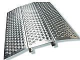 Rampe pour fauteuil roulant Rampe en aluminium Hauteur 50 mm.