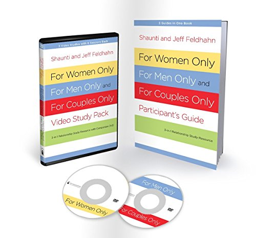 For Women Only, For Men Only, and For Couples Only Video Study Pack: Three-in-One Relationship Study Resource with Companion DVD