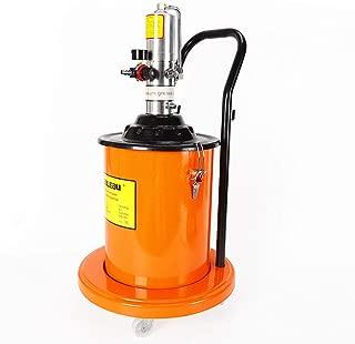 BSTOOL Grease Pump 5 Gallon 20L Pneumatic High Pressure Grease Pump 0.85L/Min Air-Operated Portable Grease Pump