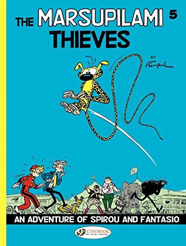 Spirou & Fantasio - The Marsupilami Thieves (Spirou et Fantasio (English version) Book 4) (English Edition)