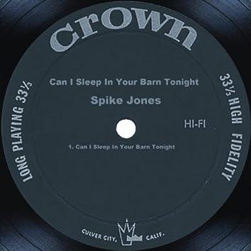 Can I Sleep In Your Barn Tonight
