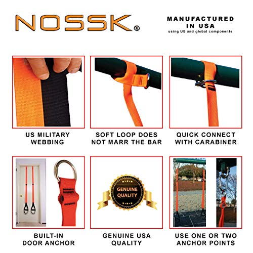 NOSSK Fitness Training Straps