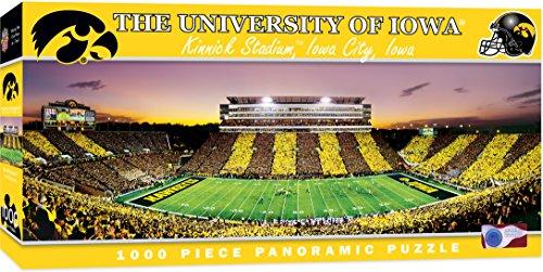 MasterPieces NCAA Panoramics 1000 Puzzles Collection - Iowa NCAA Panoramics 1000 Piece Jigsaw Puzzle