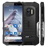 rugged smartphone 2021 oukitel wp12, android 11 dual sim con nfc display 5.5'' cellulari, 13mp telecamera, 4gb 32gb cellulare offerta,ip68 impermeabile antiurto, batteria 4000mah telefono robusto nero