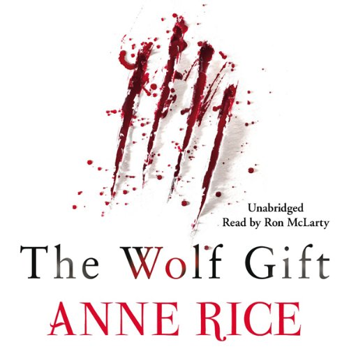 The Wolf Gift audiobook cover art