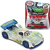 Disney/Pixar Cars, 2015 Exclusive Silver Racer Series, Carla Veloso Die-Cast Vehicle, 1:55 Scale