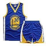 Kobe Curry Bull - Juego de camiseta para niños, transpirable, de secado rápido, para entrenamiento de baloncesto, 16-L (150 cm)