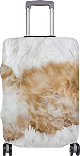 Mydaily Maine Coon Cat Kitty Luggage Cover Fits 18-32 Inch Suitcase Spandex Travel Baggage Protector