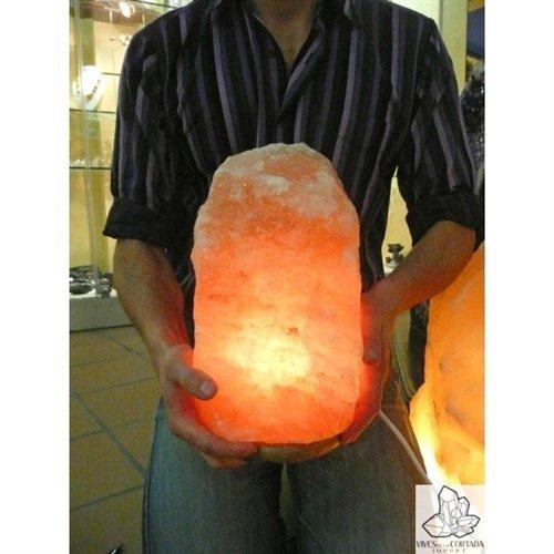 Vives Cortada Lampe en cristal de sel de l'Himalaya XL (5-7 kg)