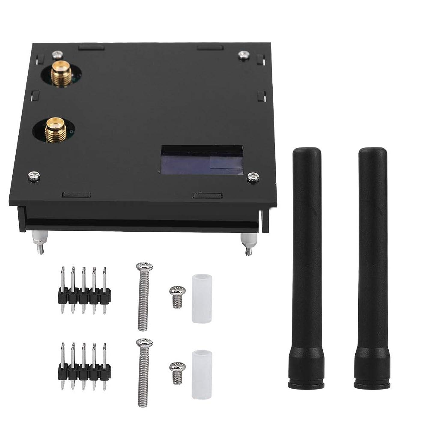 紳士気取りの、きざな資金ボーダーMMDVM拡張ボード、MMDVM Raspberry Pi DIY OLED用SD付きデュプレックスホットスポットモジュールアンテナケース(Black)