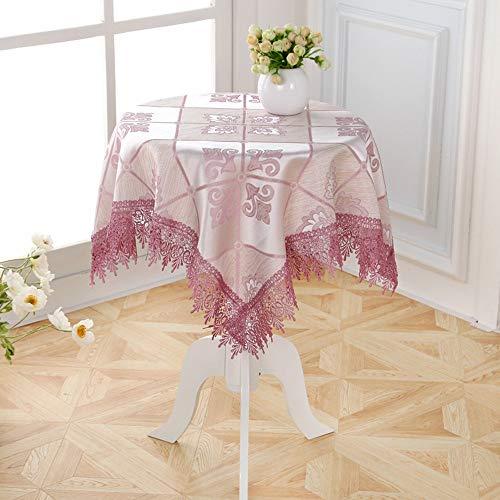 Benbroo Tafelkleed Tuin Tafelkleed Klein Rond Bloemen Kant Tafelkleed met Servetten Dikke Rechthoekig Shapeb