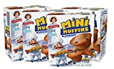 Little Debbie Blueberry Mini Muffins, 4 Boxes, 20 Travel Size Pouches