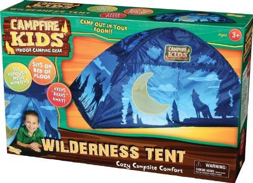 Camp Fire Kids Wilderness Tent 51010 Indoor Tent, Blue