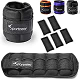 Sportneer Ankle Weights, Adjustable Weights Wrist Weight Straps for Fitness, Walking, Jogging,...
