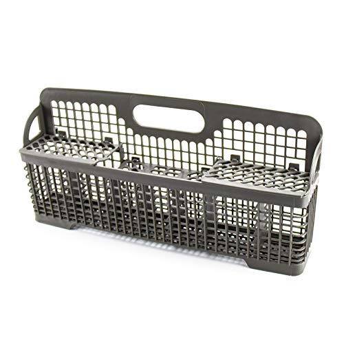 8531233 WP8562043 Dishwasher Silverware Basket by TOMOON - Compatible with whirlpool Kitchenaid Dishwasher Utensil Rack Basket - Replaces WP8562043 8562043 8531288 AP6012898 PS11746119